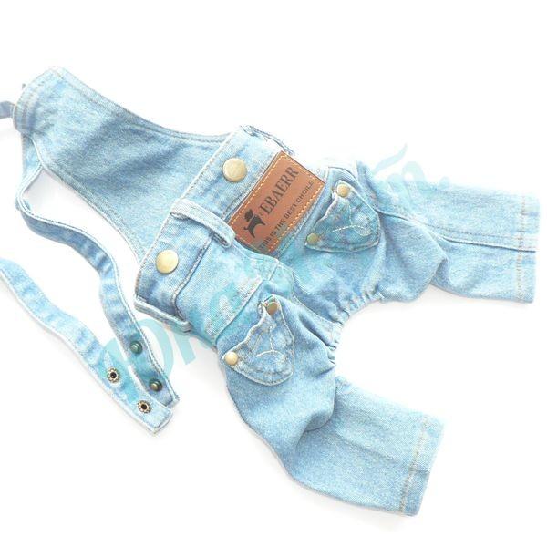 Джинсовые штаны с лямками
